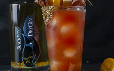 Black Fox Gin Caesars