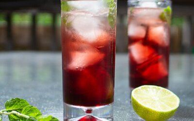 Pomegranate Mint Cocktail