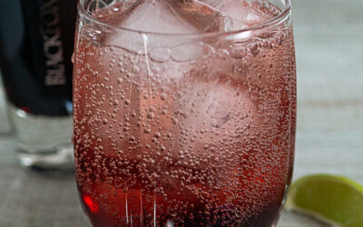 Mike's Sour Cherry Lime Spritz